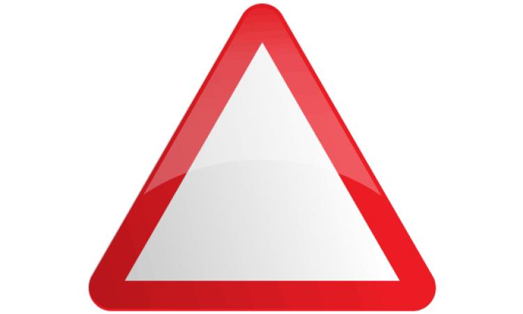 Blank Triangle