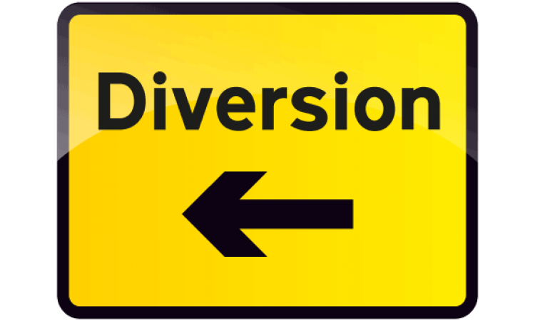 Diversion Left