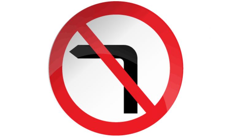 No Left Turn 613