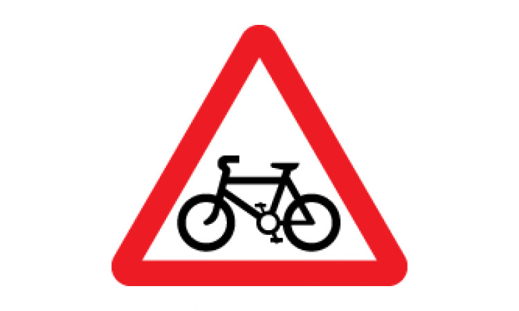 Bus and cycle signs