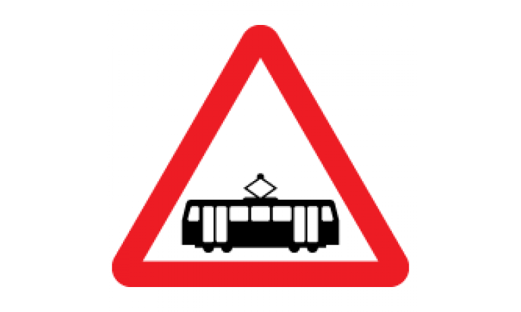 Tram signs