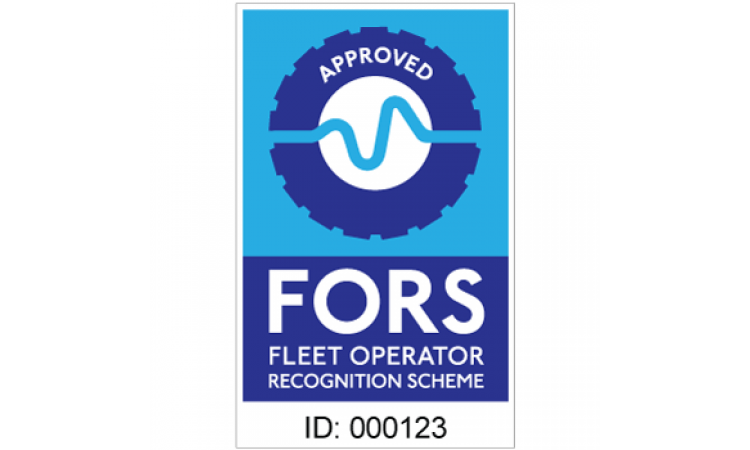 FORS approved contractor sticker