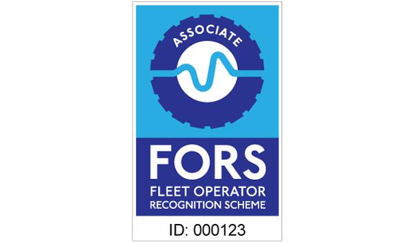 FORS associate contractor sticker