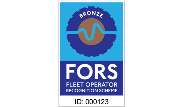 FORS bronze contractor sticker