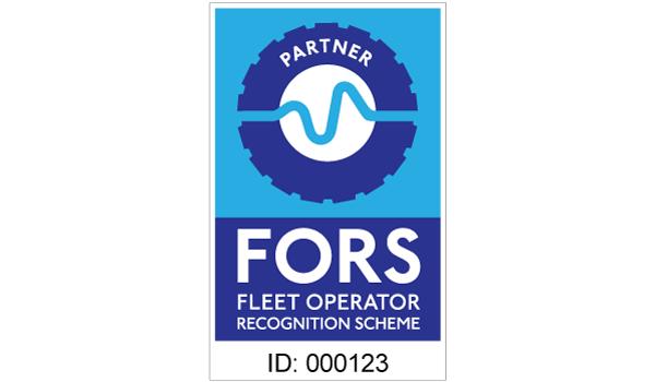 FORS partner contractor sticker