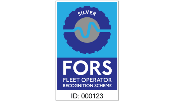 FORS silver contractor sticker