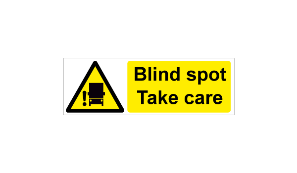 Blind spot - Take care