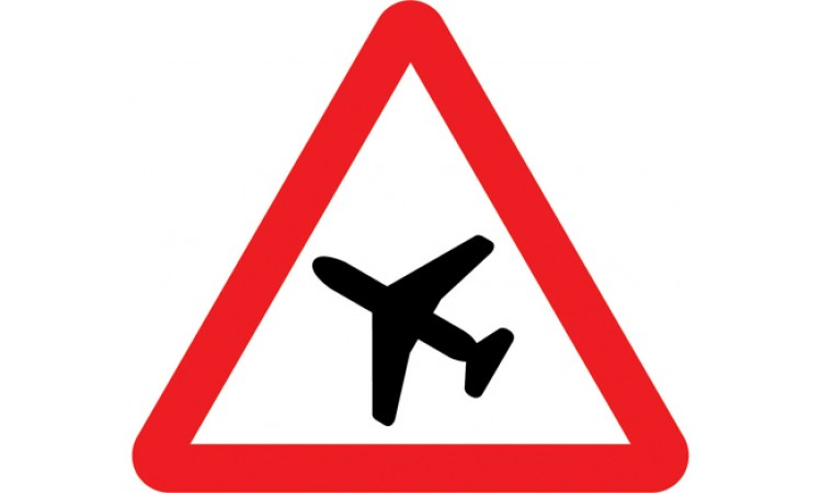 Low flying aircraft or sudden aircraft noise likely ahead