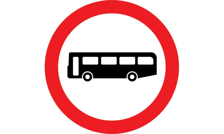 Buses prohibited